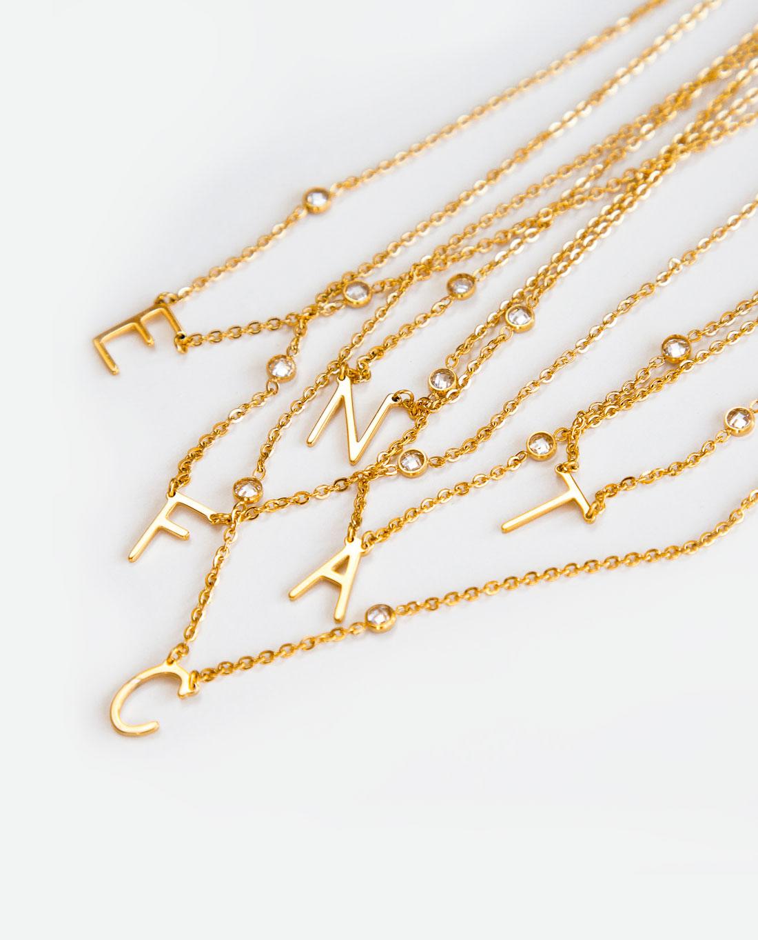 d332672df170 Collar iniciales de Agatha by Sara