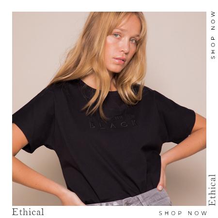 Camiseta mensaje Ethical